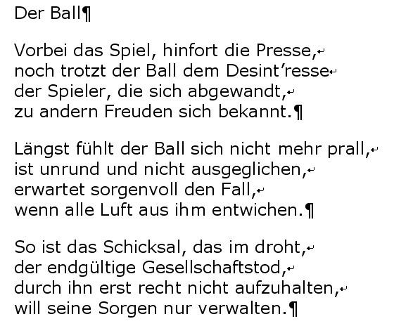 Philipp Bobrowski: Der Ball (mit Absatzmarken, korrekt formatiert)